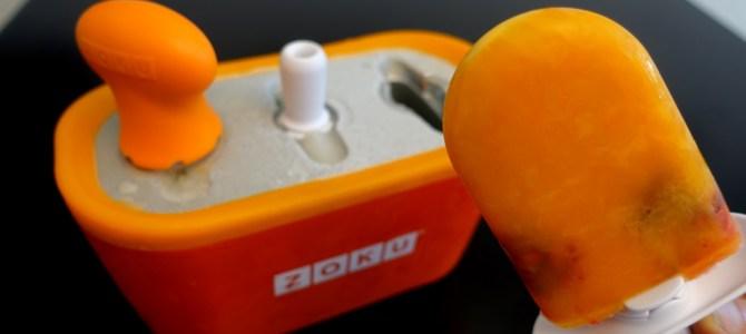 BayfairDrive testet: Selbstgemachtes Fruchteis mit dem Frozen fruit fun von Lékué und dem ZOKU Quick Pop Maker
