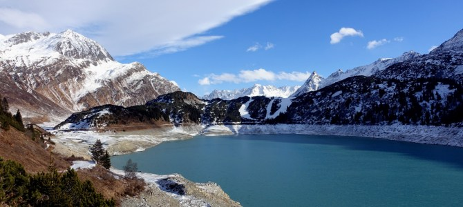 Winterwanderwege am Zeinisjoch im Paznaun