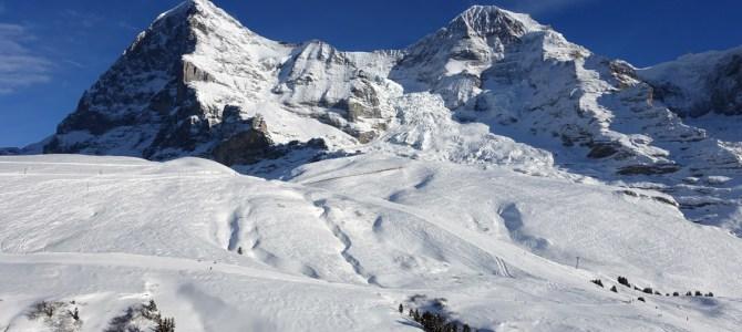 In der Schweiz unterwegs – Winterwunderland Wengen am Fuss von Eiger, Mönch und Jungfrau