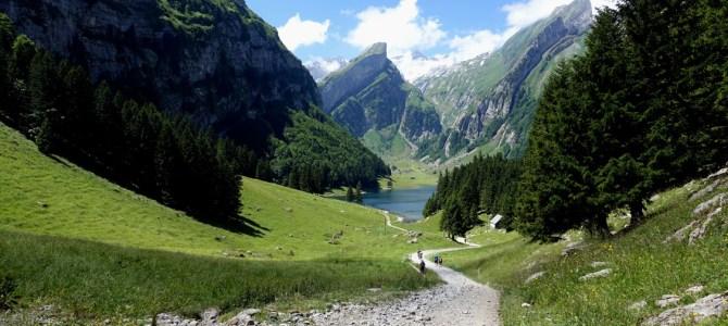 In der Schweiz unterwegs – Wanderung zum Seealpsee, Äscher und Ebenalp
