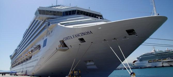 Eindrücke meiner ersten Kreuzfahrt: Willkommen an Bord der Costa Fascinosa