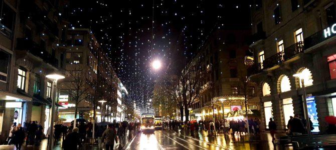 Zürich zur Weihnachtszeit