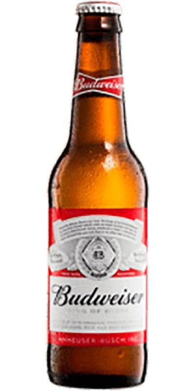 Budweiser Beer stubby 355ml