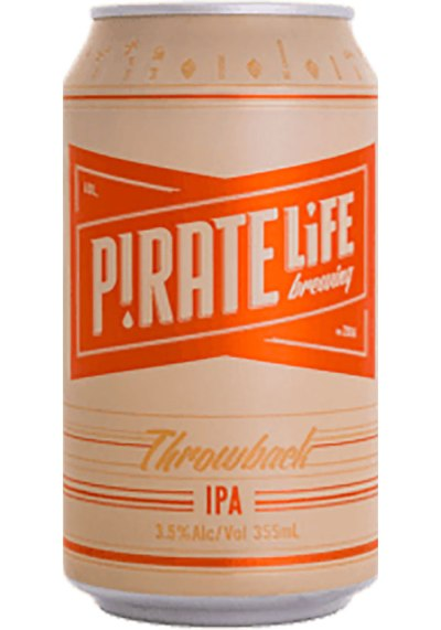 Pirate Life Brewing Throwback IPA Can 355ml
