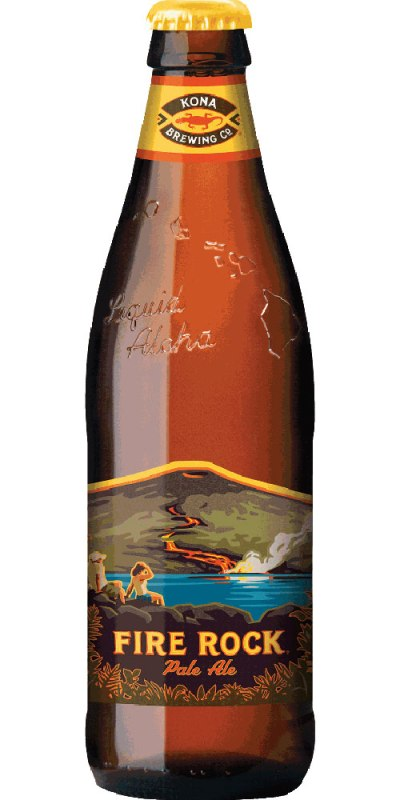 Kona Fire Rock Pale Ale Bottle 330ml
