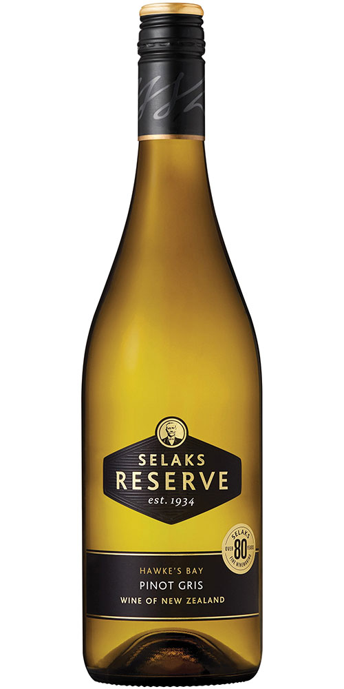 Selaks Reserve Pinot Gris 750ml