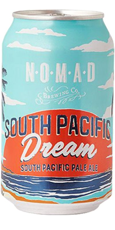 Nomad Brewing Company South Pacific Dream Pale Ale Cans 330mL