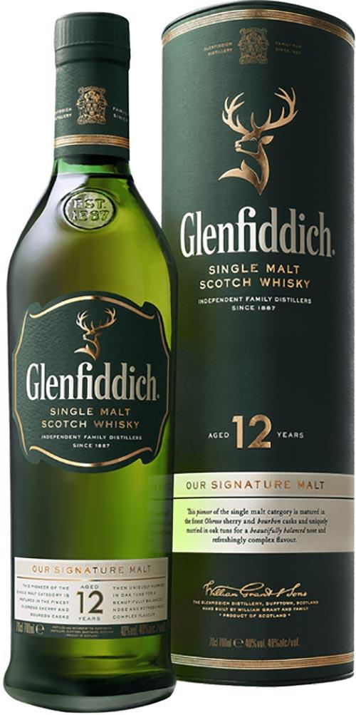 Glenfiddich 12 Year Old Malt 700ml