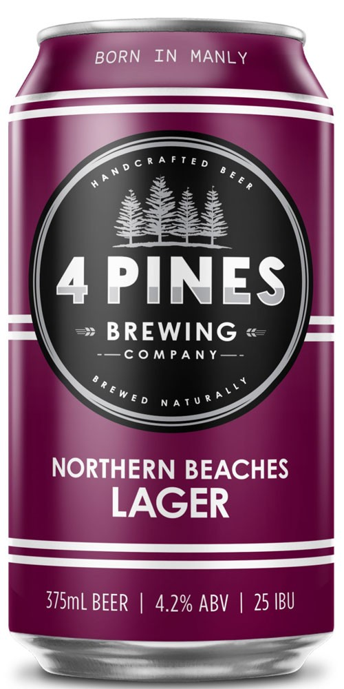 4 Pines Northern Beaches Lager