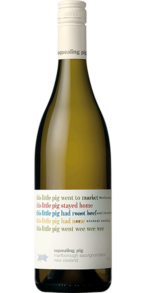 Squealing Pig Marlborough Sauvignon Blanc 750ml