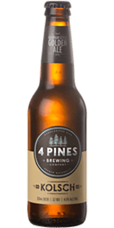 4 Pines Kolsch Bottle 330ml