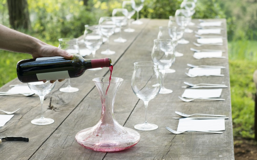How to decant your wine