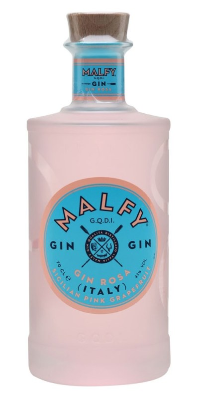 Distilled using the peel of Sicilian pink grapefruits, Italian juniper berries, rhubarb, and four other botanicals. Enjoy this colourful burst of Italian sunshine on the rocks, with tonic or in your favourite cocktail.