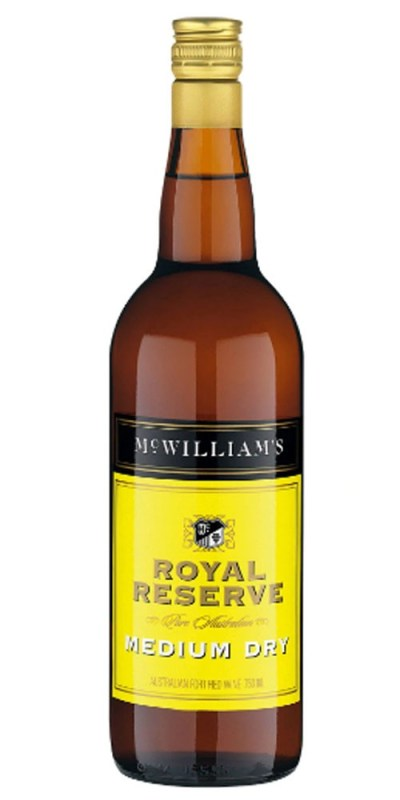 McWilliams Royal Reserve Medium Dry Sherry 750ml
