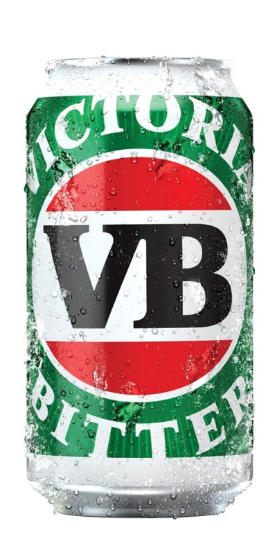 Victoria Bitter Can