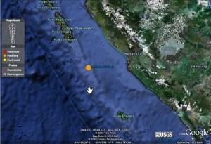 Erdbeben vor Süd Sumtra