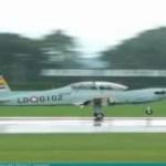 Millitärflugzeug in Bali abgestürzt