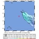 Erdbeben in Nord Sumatra 5,5