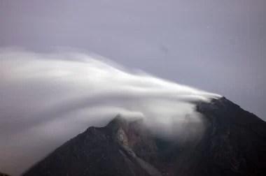 Mt. Merapi Ausbruch steht bevor Fotoquelle: Jakarta Post
