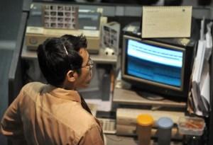 Ein Händler an der Börse in Jakarta Fotoquelle: ftd.de
