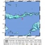 Erdbeben 5,8 vor der Küste der Insel Flores