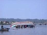 Das gekenterte Boot Fotoquelle: Jakarta Post