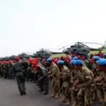 Vorbereitung für die UN Friedensmission im Sudan