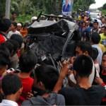 Wieder schwerer Verkehrsunfall mit 18 Toten