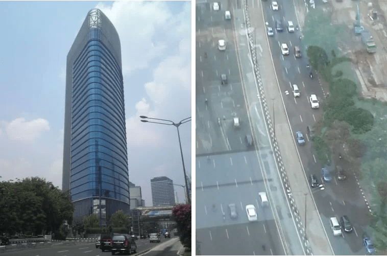 ICBC Tower und die Aussicht von diesem
