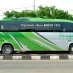 Mercedes-Busse zu Leicht für Jakartas Straßen