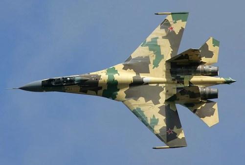 Su-35S Foto: Wikipedia / Dmitriy Pichugin