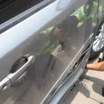 Die Polizei ist schneller da als man für indonesische Verhältnisse denkt und hilft auch