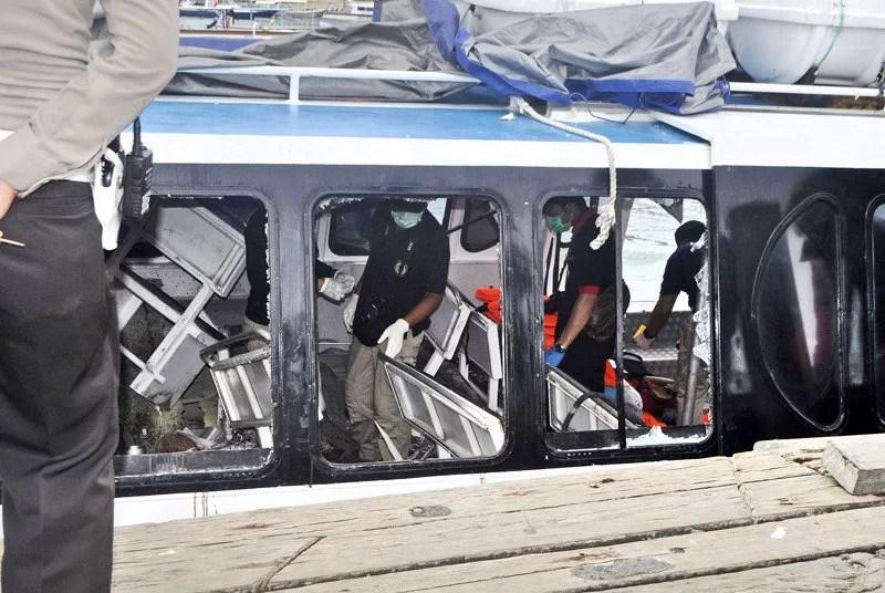 Deutsche bei Explosion verletzt / Screenshot Jakarta Post
