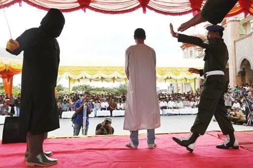 Prügelstrafe in Indonesien / Foto: Jakarta Post