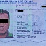 Deutscher Tod geborgen