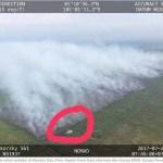 Schwere Waldbrände in Sumatra