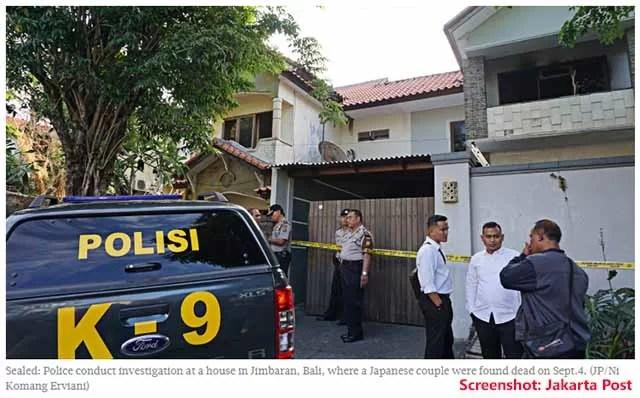 Ausländer auf Bali ermordet / Screenshot: Jakarta Post