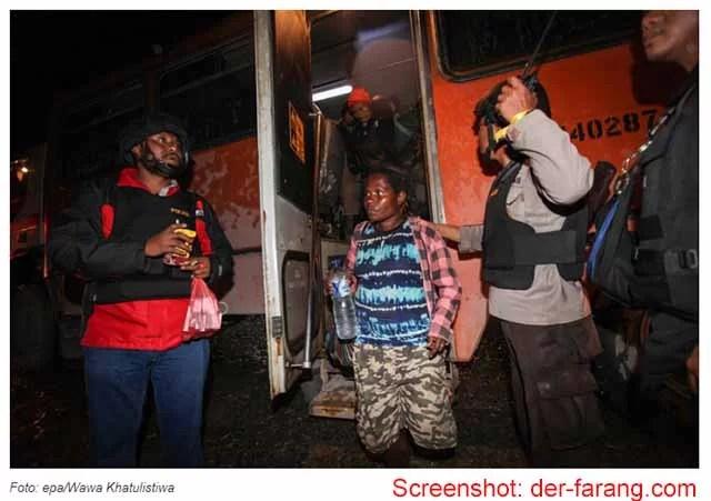Papua 344 Geiseln befreit / Screenshot: Der Farang