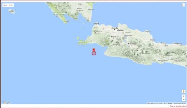 Erdbeben in Jakarta