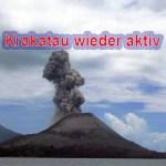 Vulkan Krakatau höchste Alarmstufe