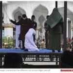 Wieder öffentliche Auspeitschung in Aceh