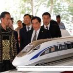 Indonesien plant Hochgeschwindigkeitszug
