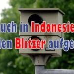 In BSD-City und Süd-Tangerang werden die ersten Blitzer aufgestellt