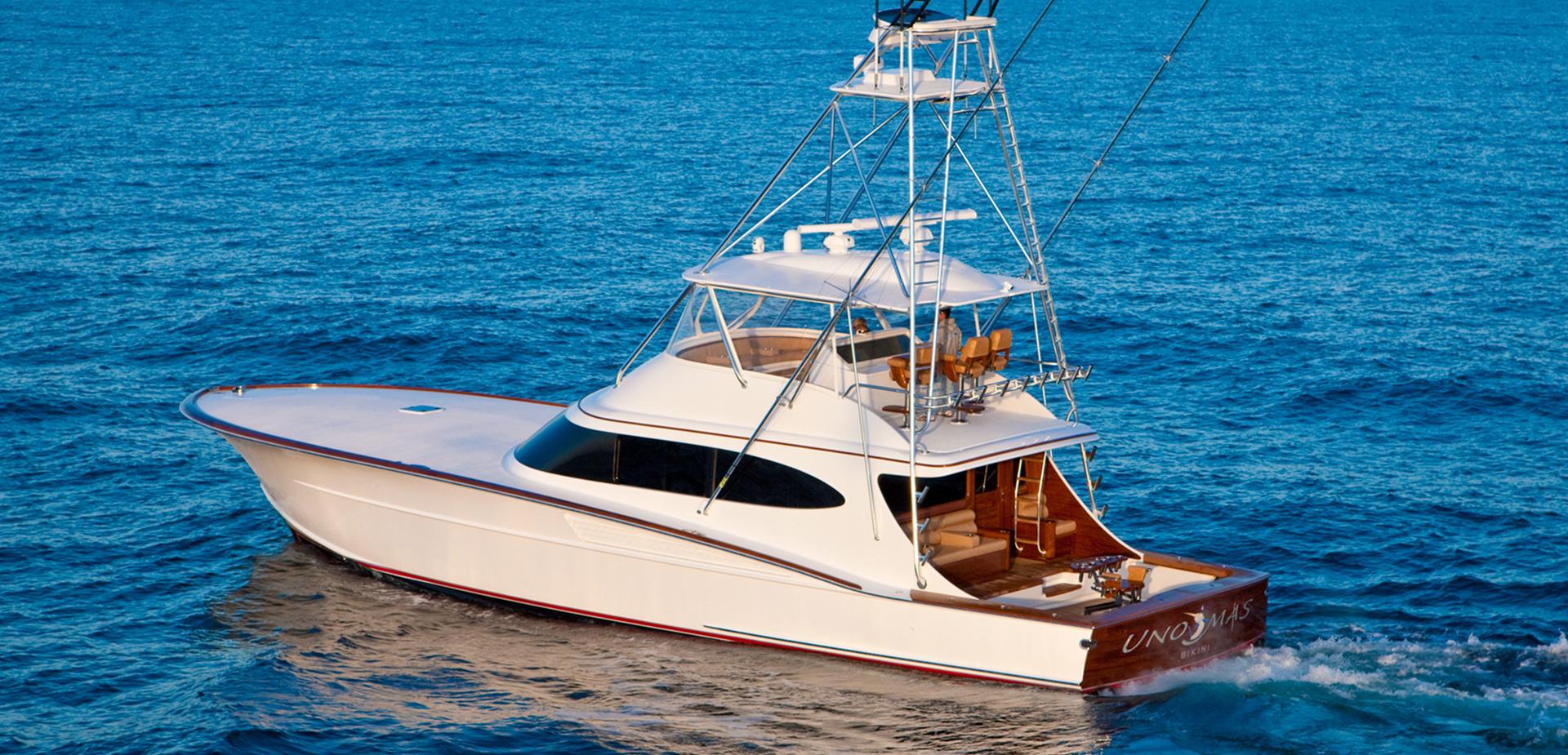 Bayliss 68 Uno Mas  Custom Sport Fishing Boat  Bayliss
