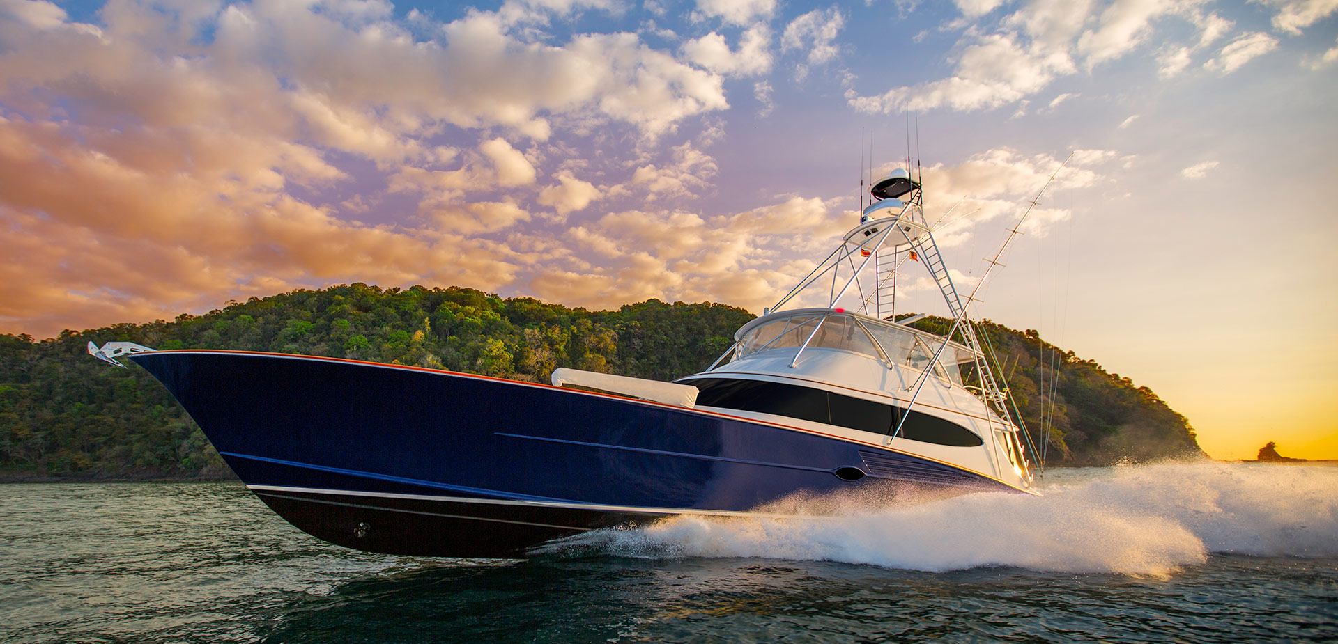 Bayliss 90 Singularis Custom Sportfishing Boat