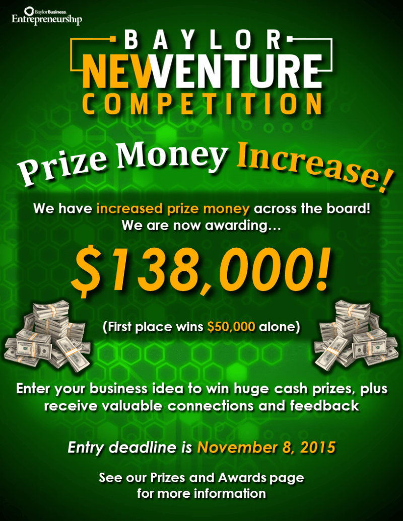 Prize Increase Flyer
