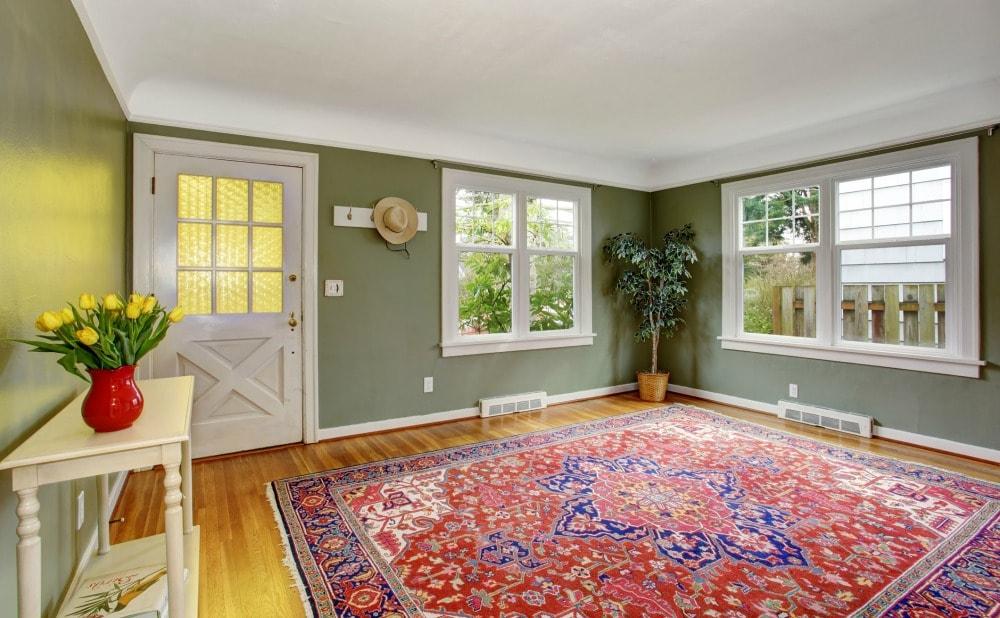 add-rug-temporary-decoration-rental-property-howard-county-maryland