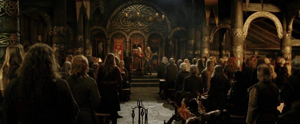 Théoden, il re del palazzo d'oro