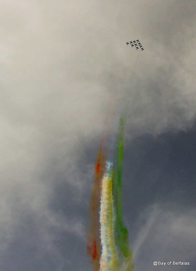 frecce tricolori ad Ischia