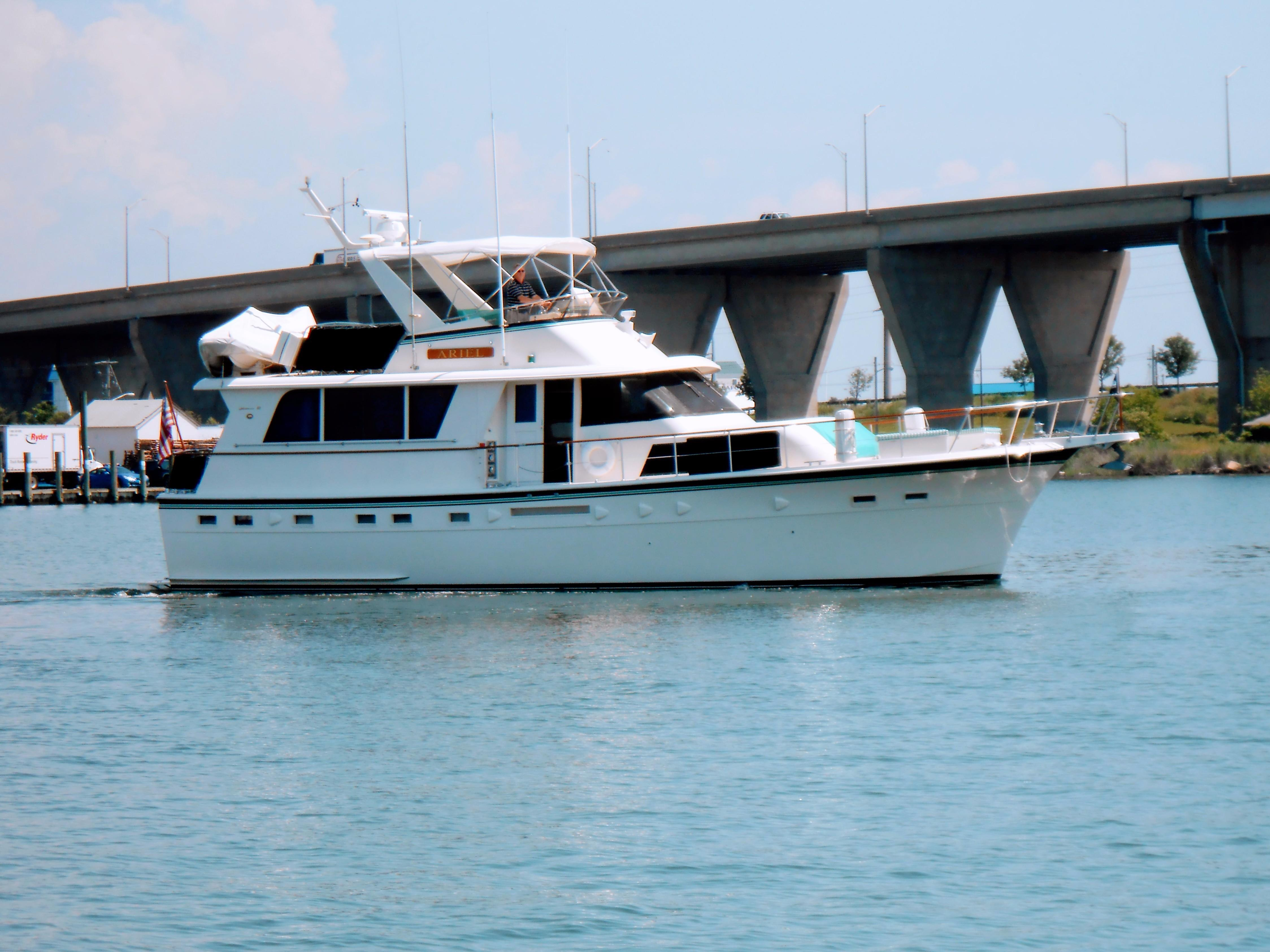 1985 Hatteras 53 ED STABILIZED 53 Boats For Sale Bayport